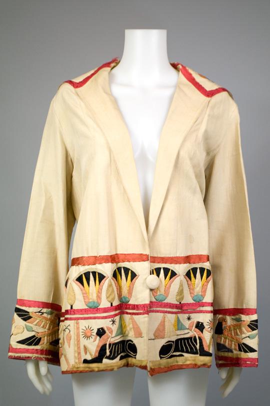 1920s egyptian coat