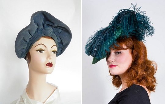 1930s fashion hats
