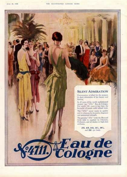 1930s fashion advertisement for dresses