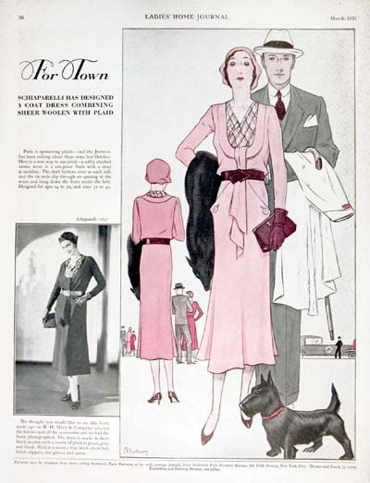 1930s elsa schiaparelli advertisement