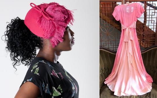 1930s fashion elsa Schiaparelli shocking pink colors
