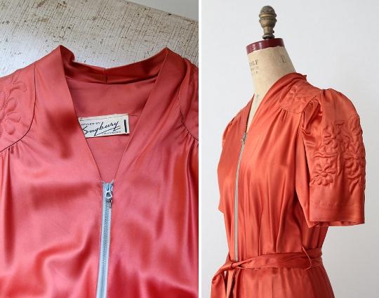 1930s fashion zippers