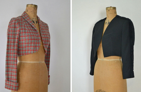 40s clothes bolero jackets
