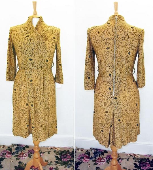 40s clothing united kingdom cc41 label dresses