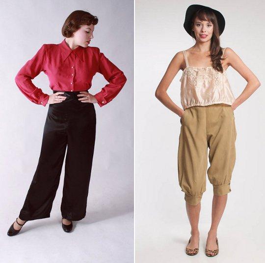 40s clothes pants