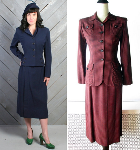40s clothes victory suits