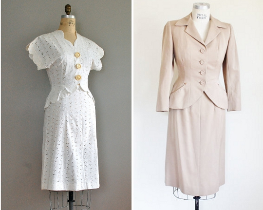 40s clothes wedding suit trend