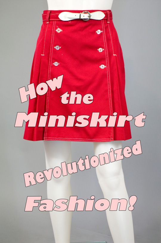 the miniskirt 1960s fashion trend