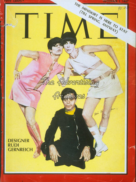 the mini skirt as shown on a 1969 issue of time magazine