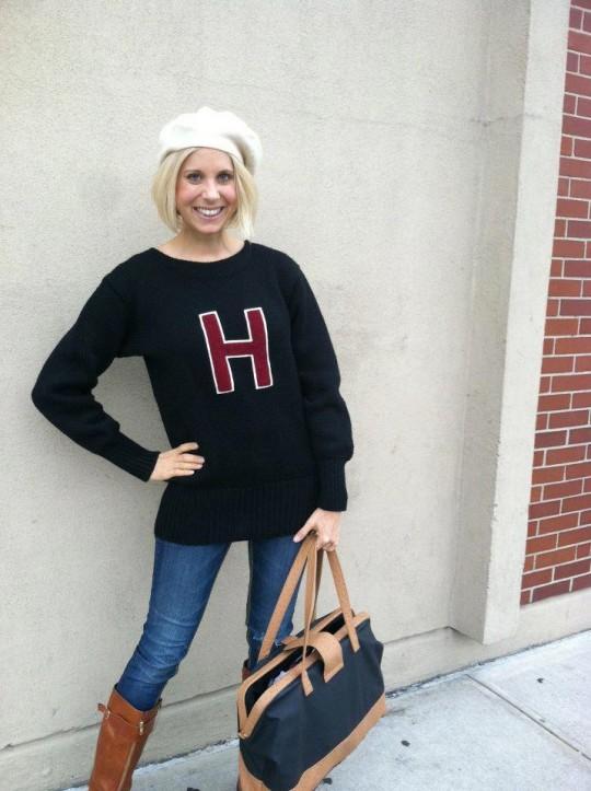 1950s varsity sweater