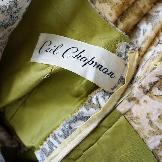 ceil chapman vintage designer label