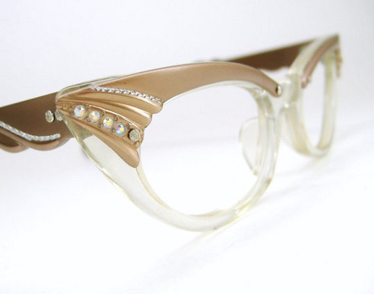 1950s cat eye glasses
