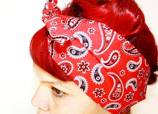 rockabilly style headband