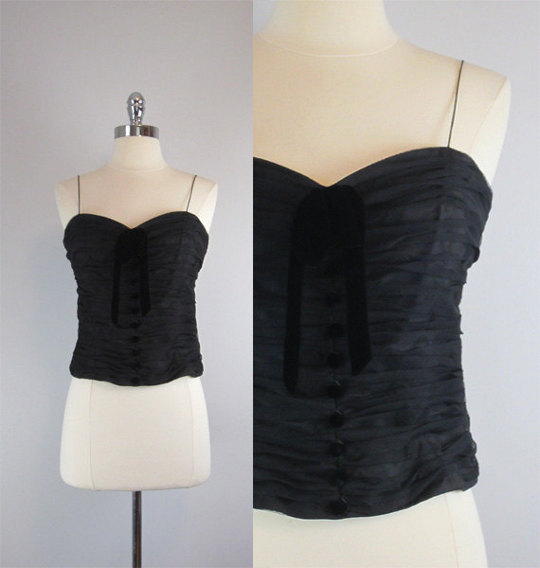 vintage 1950s rockabilly top