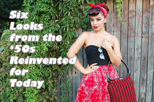 rockabilly 1950s style look