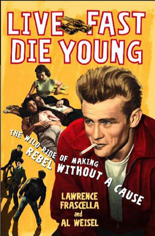the movie poster for rebel without a cause