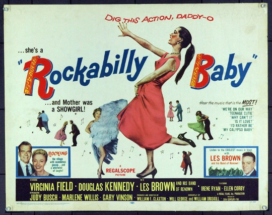 an advertisement for rockabilly baby movie