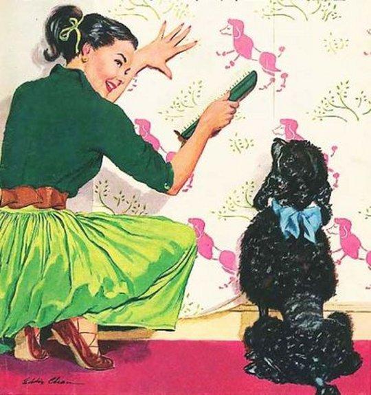vintage poodle skirt picture