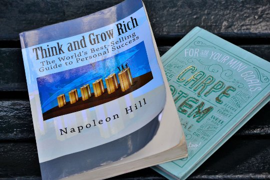 carpe diem and think and grow rich books