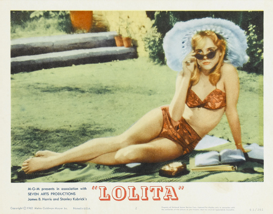lolita advertisement 1962 movie