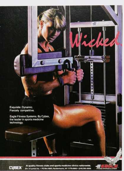 vintage fitness advertisement