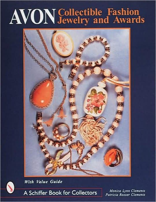 avon jewelry collectibles book