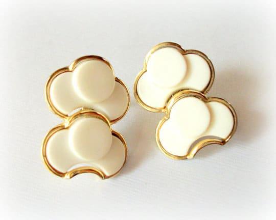 vintage costume jewelry earrings by coro