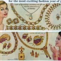 vintage costume jewelry ad