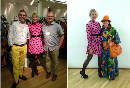 meeting vintage fashion sellers at the manhattan vintage show