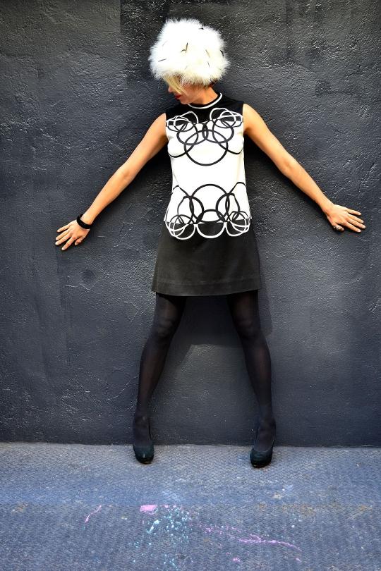 mr dino vintage '60s dress