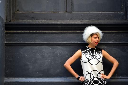 mr. dino vintage '60s dress
