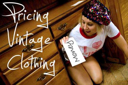 price vintage clothing main image