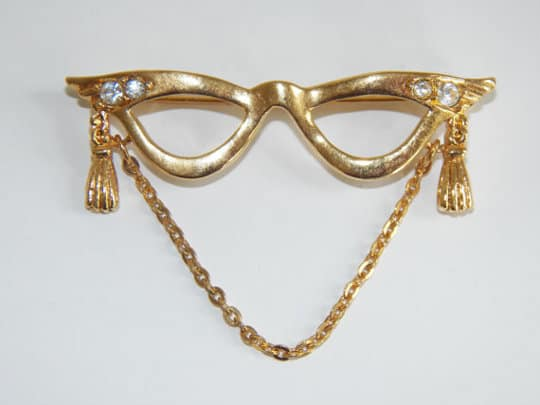 vintage costume jewelry by avon
