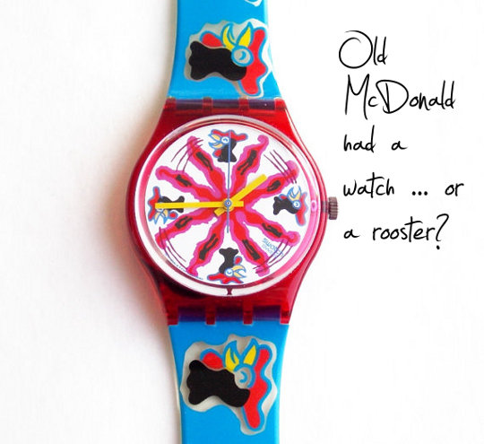vintage swatch watch