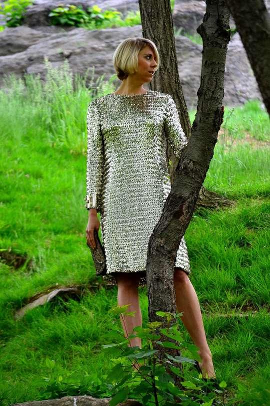 1950s vintage sequin dress