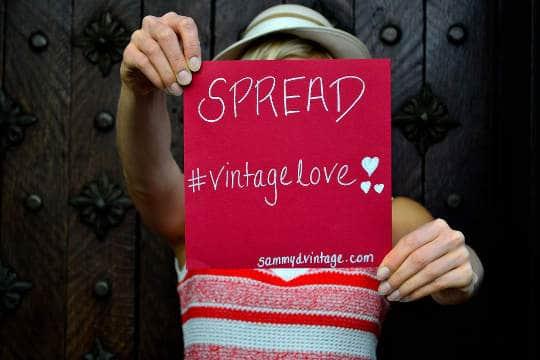 spread vintage love