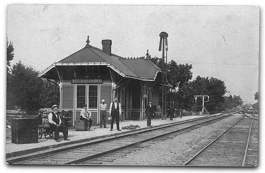 vintage photo of mount victory, ohio