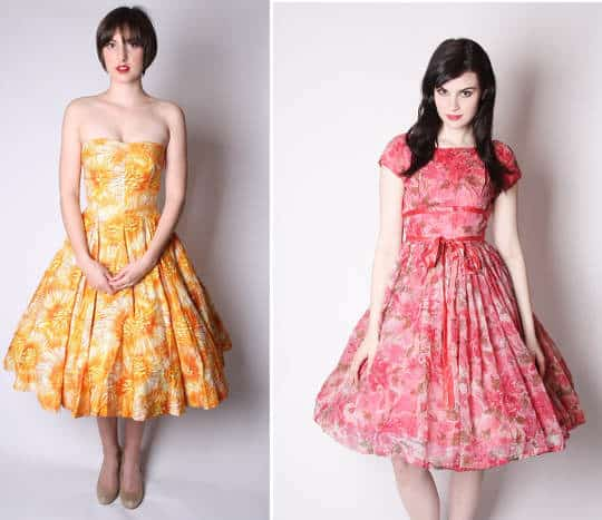 Your Experiences Shopping Vintage Online - 1950s Vintage Dresses