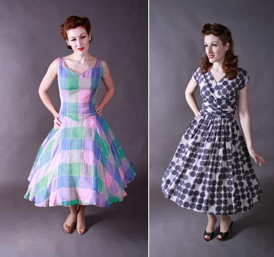 1950s vintage dress