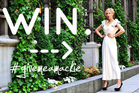 win this vintage bob mackie dress