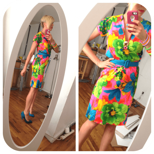 lilly pulitzer 1960s dress
