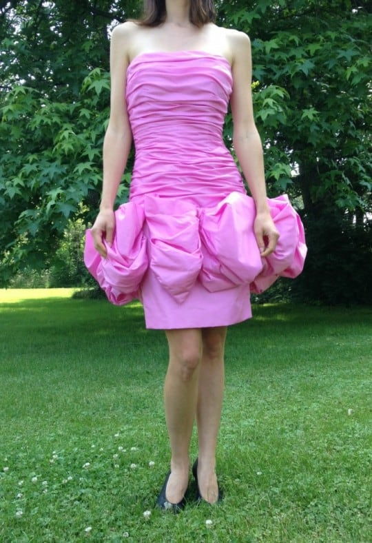 vintage victor costa dress on ebay