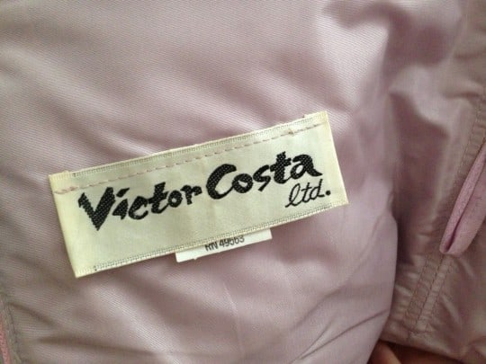 "Lipstick Affirmations: Wearing Victor Costa Because ""My Fears Are a Fantasy"""