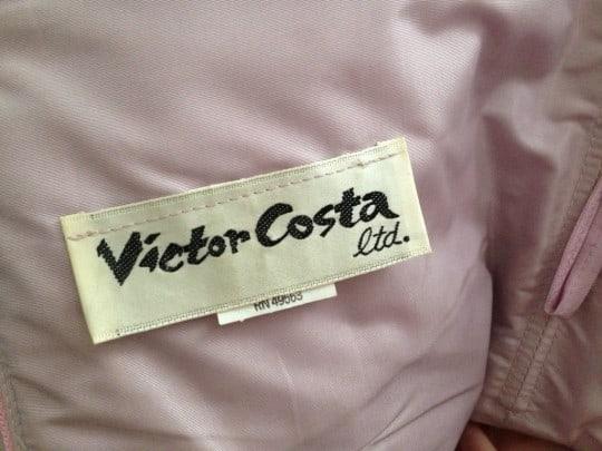 victor costa vintage tag