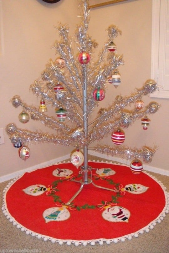 alumuninum christmas tree