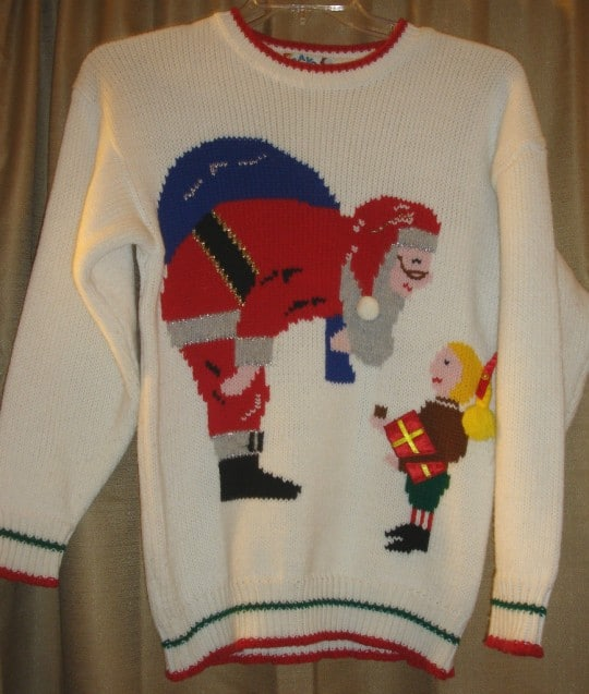 ugly holiday christmas sweater