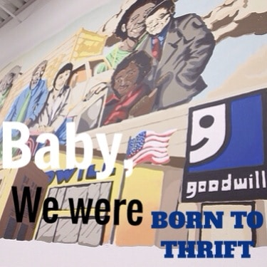 baby we were born to thrift