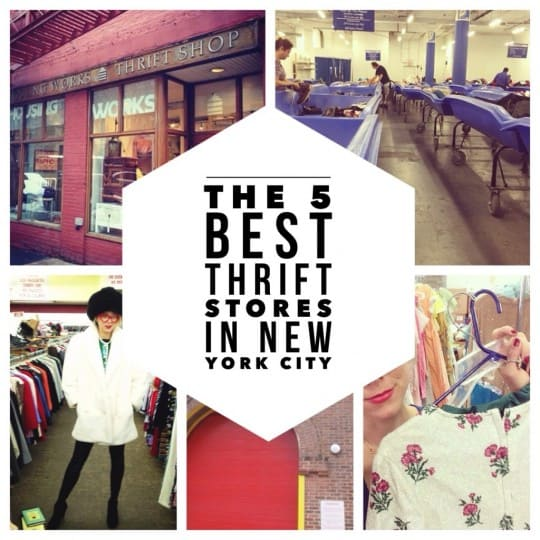 The 5 best thrift stores in new york city my secret picks for Best consignment stores nyc