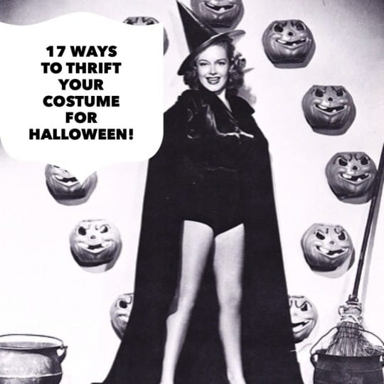17 Easy Ways to Thrift Your Halloween Costume This Year