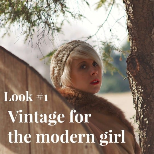the main image for look #1 of vintage for the modern girl